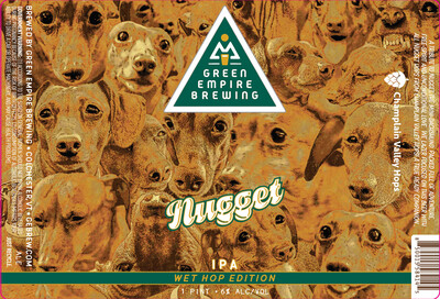 Green Empire Brewing Nugget IPA Wet Hop Edition 4-Pack