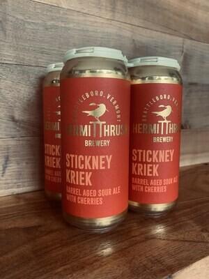 Hermit Thrush Brewery Stickney Kriek 4-Pack