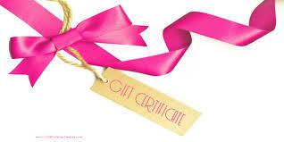 Writing Seminar Gift Certificate