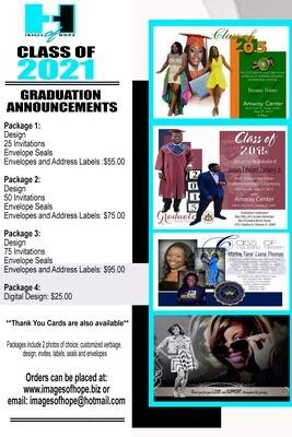 Graduation Announcement Packages