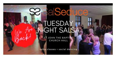 TUESDAY NIGHT SALSA 2 WEEK PASS