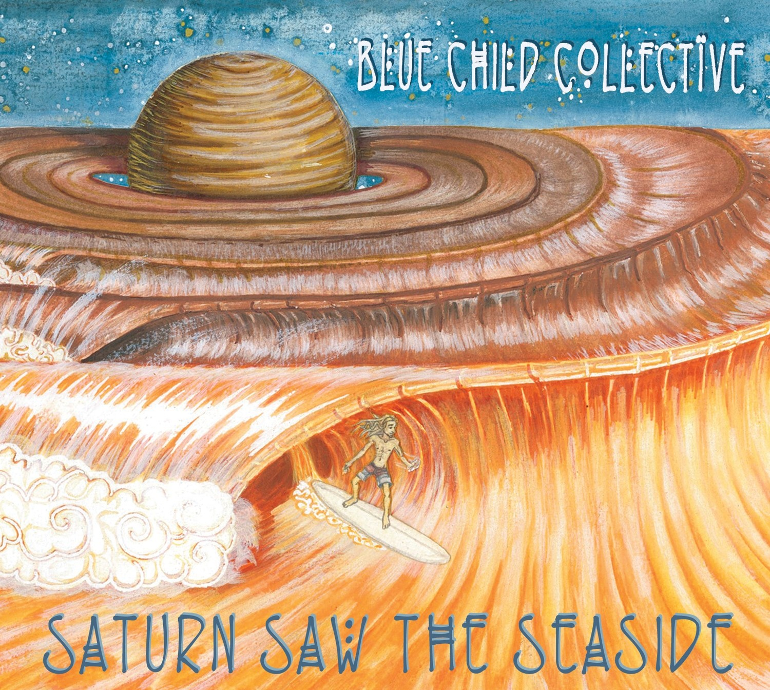 Saturn Saw The Seaside (2016) Physical Album CD/DVD
