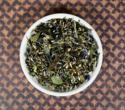 Sage Lavender White Loose Leaf Tea