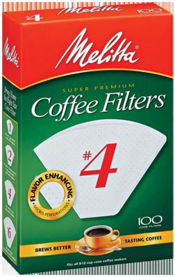 Melita #4 Coffee Filters