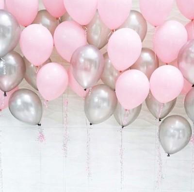 шар  нежно-розовый