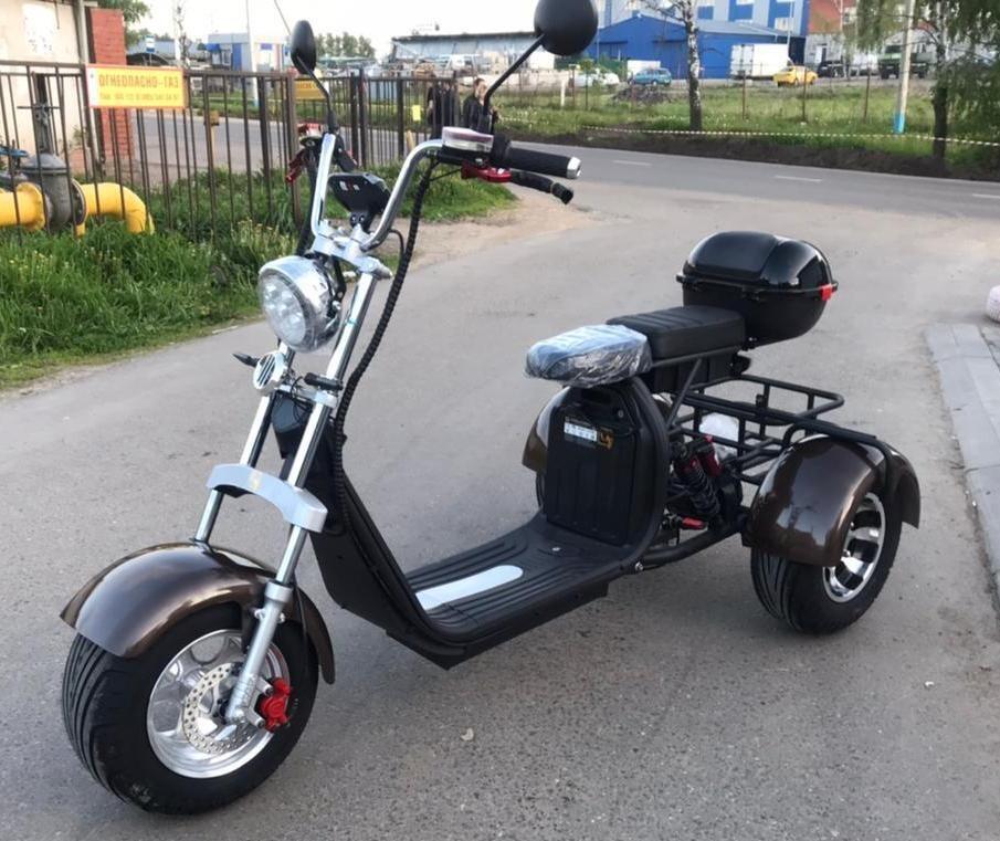 Электроскутер Citycoco Trike GT X11