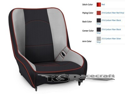 CUSTOM LOW BACK SUSPENSION BUCKET SEATS