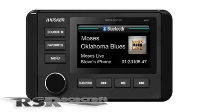 Kicker KMC4 Marine Dual-Zone Media Center