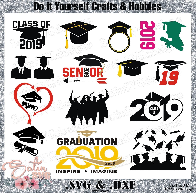 Graduation Designs 2019 SVG Files, Cricut, Silhouette Studio, Digital Cut Files