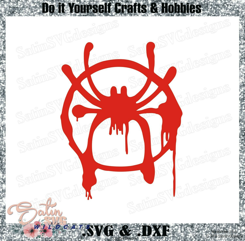 SPIDERMAN-Miles Mareles Marvel Design SVG Files, Cricut, Silhouette Studio, Digital Cut Files