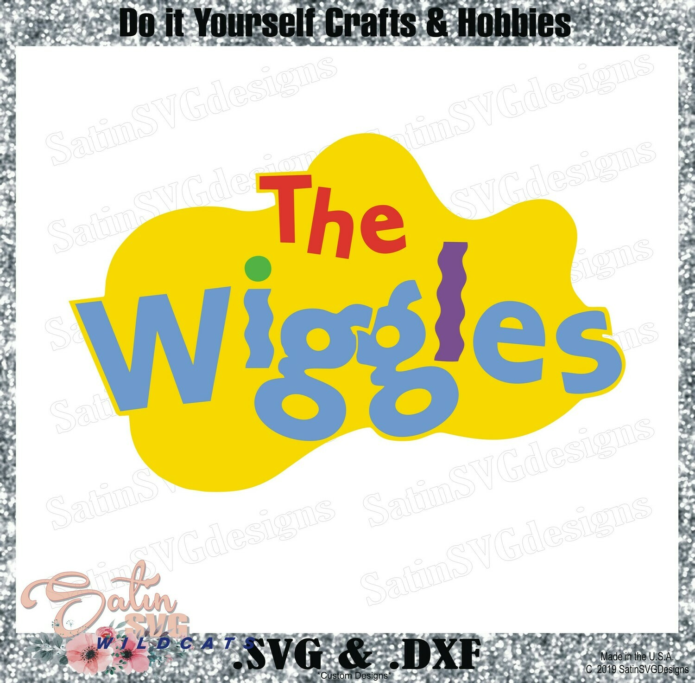 The Wiggles Design SVG Files, Cricut, Silhouette Studio, Digital Cut Files