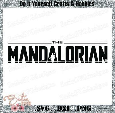 Mandalorian, Star Wars Design SVG Files, Cricut, Silhouette Studio, Digital Cut Files Valentines