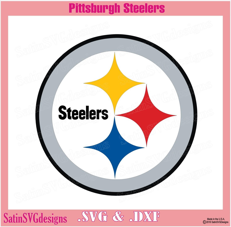 Pittsburgh Steelers Logo Design SVG Files, Cricut, Silhouette Studio, Digital Cut Files