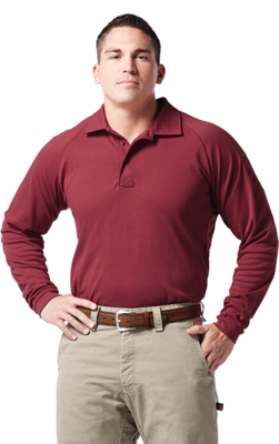 Justin FR J-TEK Breathable Cotton Polo