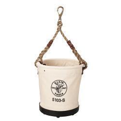 Heavy-Duty Tapered-Wall Bucket with Swivel Snap Hook