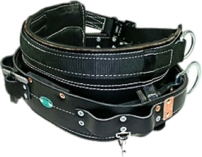 Four D-Ring Tool Belt