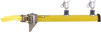 "Pole-Mounted Super ""U"" Conductor  Support Arm with Ratchet and Nylon Strap"