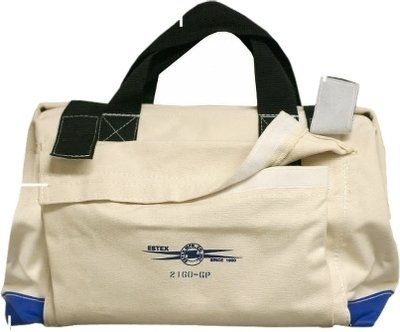 Canvas Tool Bag with Outside Pockets