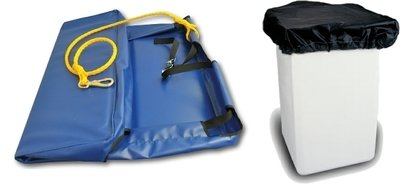 Aerial Bucket Cover, Universal Fit and Collapsible