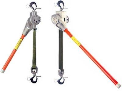 Nylon Strap Ratchet Hoists, Mechanical