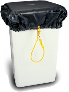 Aerial Bucket Cover with Foam & Heat Sealed Seams