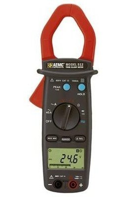512 Clamp-On Meters