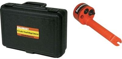 Self Testing Audio/Visual Voltage Detector