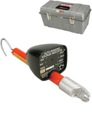 Distribution Auto-Ranging Voltage Indicators (ARVI)