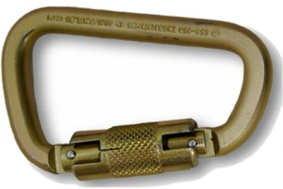 Steel Twist Lock Carabiner