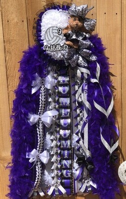 Classic Double/Double Homecoming Mum