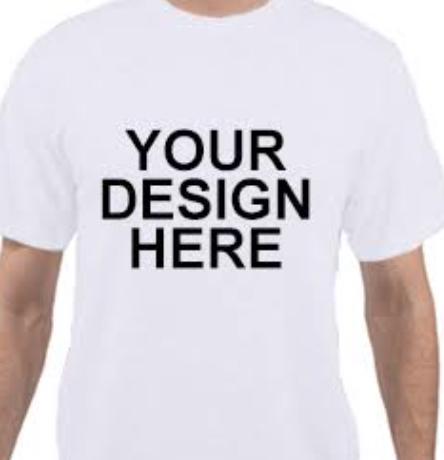 A Custom Printed T Shirt