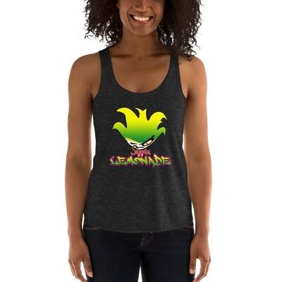 Lemonade Sippin Women's Tri-Blend Racerback Tank