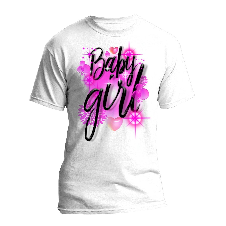 Baby Girl Airbrush