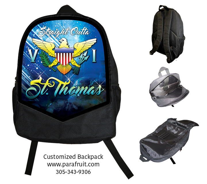 Outta ST Thomas Backpack