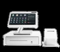 Clover Station 2018 with Customer Facing Display, NFC Printer & Cash Drawer