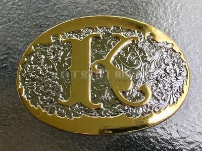 """Michael Knight """"K"""" Belt Buckle"""