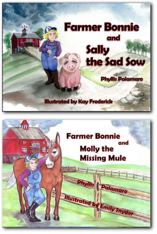 Farmer Bonnie Vol 1 and Vol 2 Signed by the Author - Save on Shipping