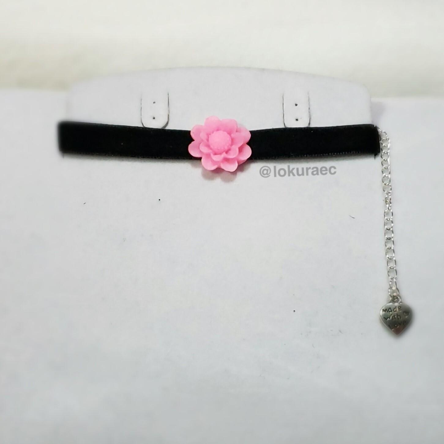 Collar Gargantilla Rose Vintage