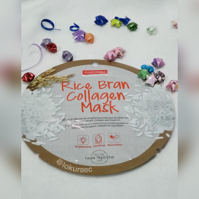 🔥 Mascarilla Rice Bran Collagen