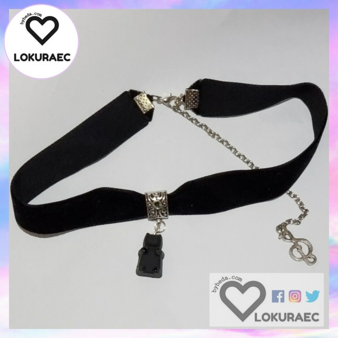 Collar Gargantilla Gummy black bear