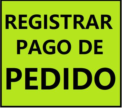 REGISTRAR PAGO DE PEDIDO