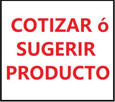 COTIZAR ó SUGERIR PRODUCTO