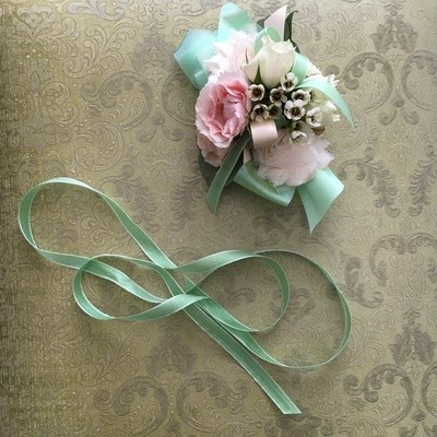 Mother's Day Corsage Wristlet