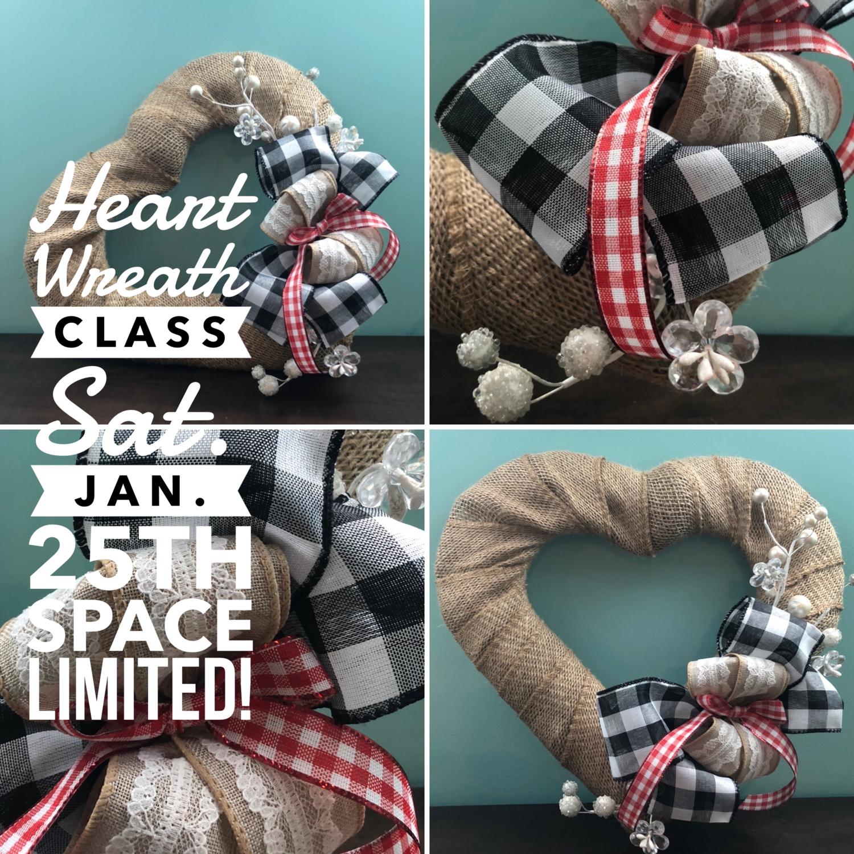 Heart Wreath Class