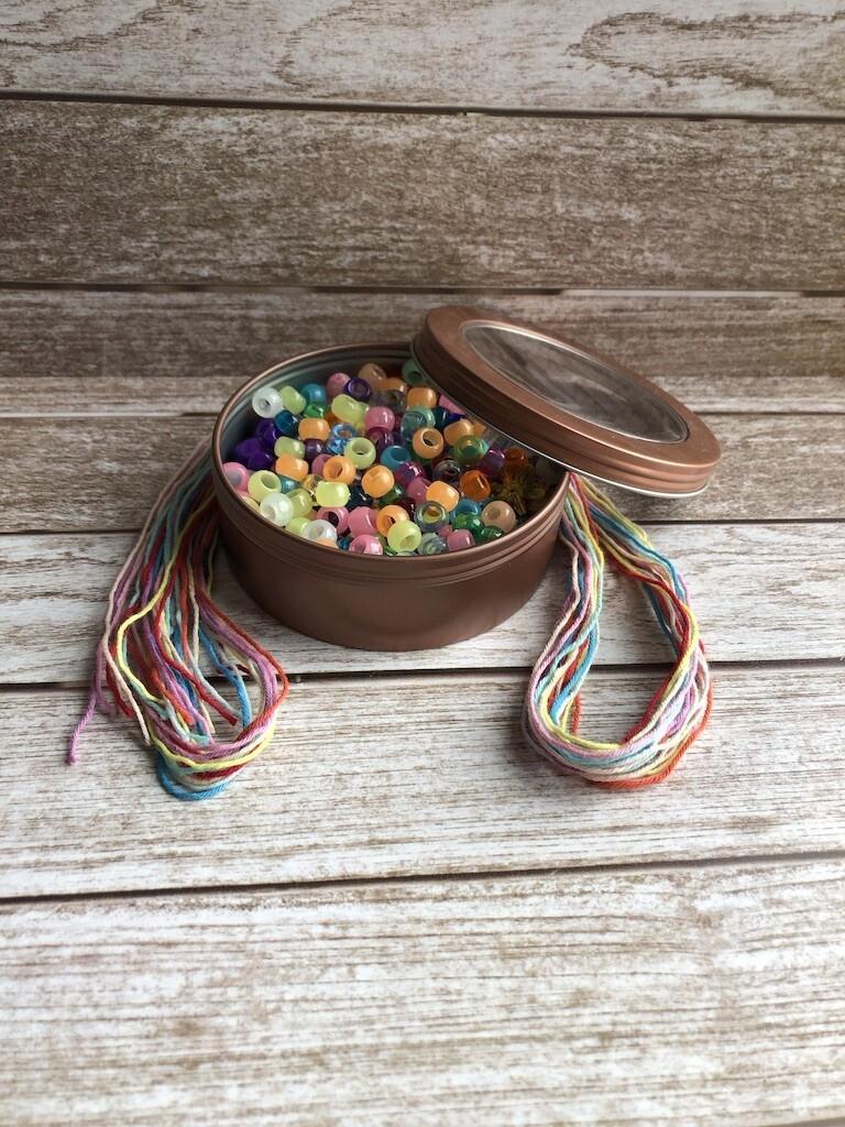 Tin of Beads
