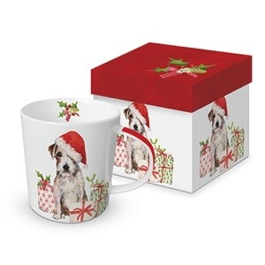 """Mok """"Christmas pup"""""""