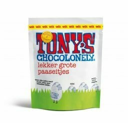 Paaseitjes wit Tony's Chocolonely 180 gram