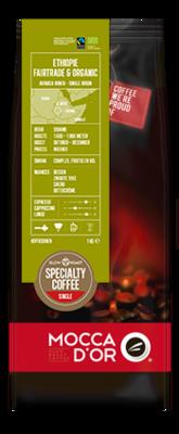 Ethiopië Fairtrade & Organic 500 gram