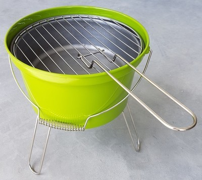 Barbeque emmer groen