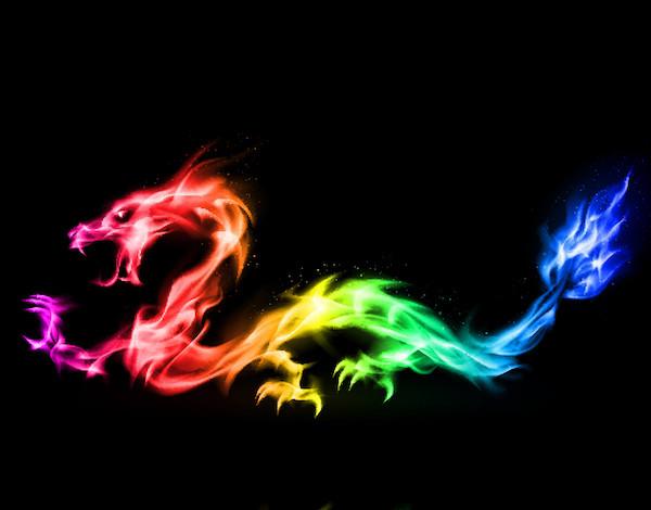 Rainbow Dragons Full Moon Workshop